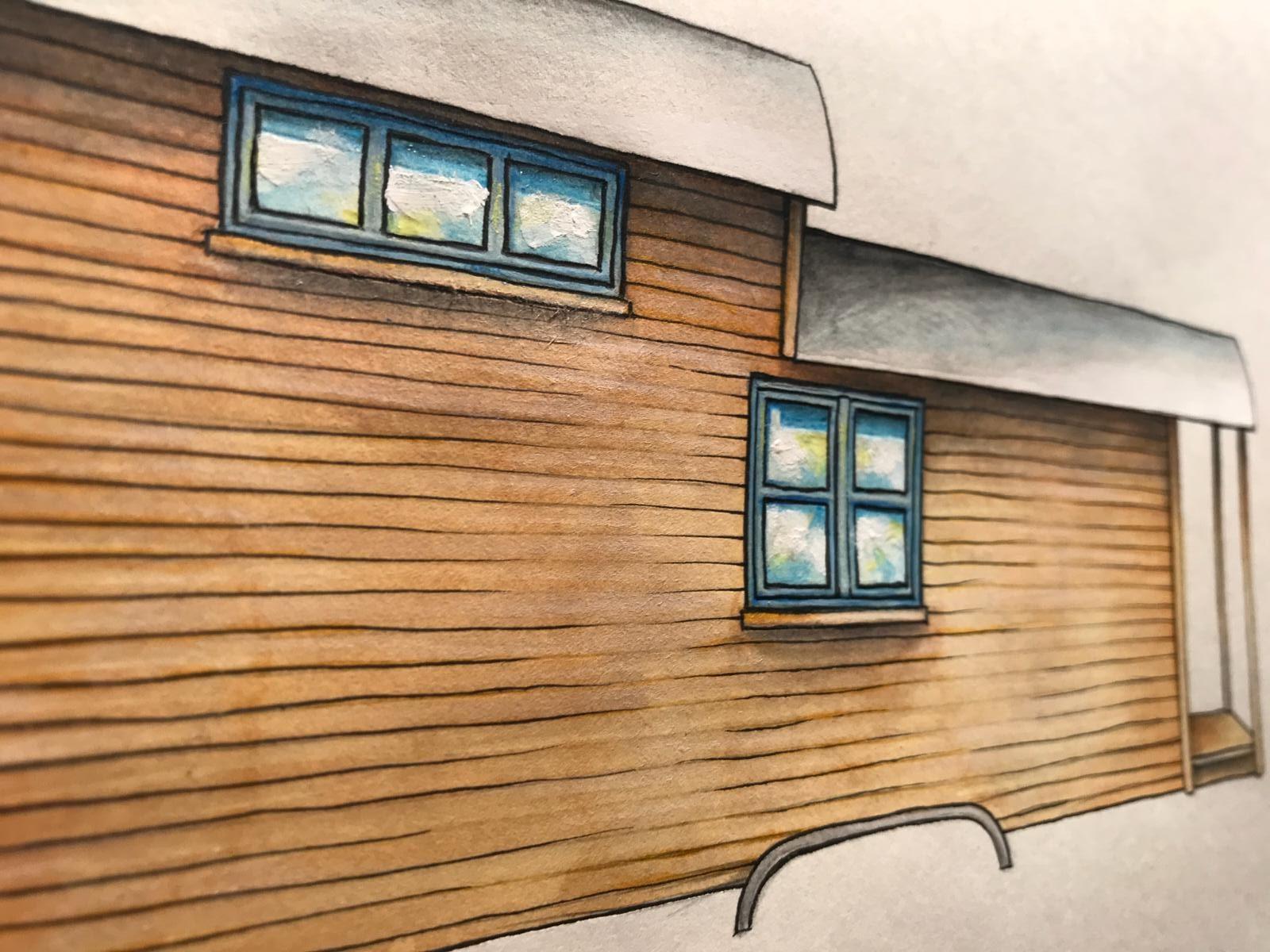 angebot und preise tiny houses villa on wheels. Black Bedroom Furniture Sets. Home Design Ideas
